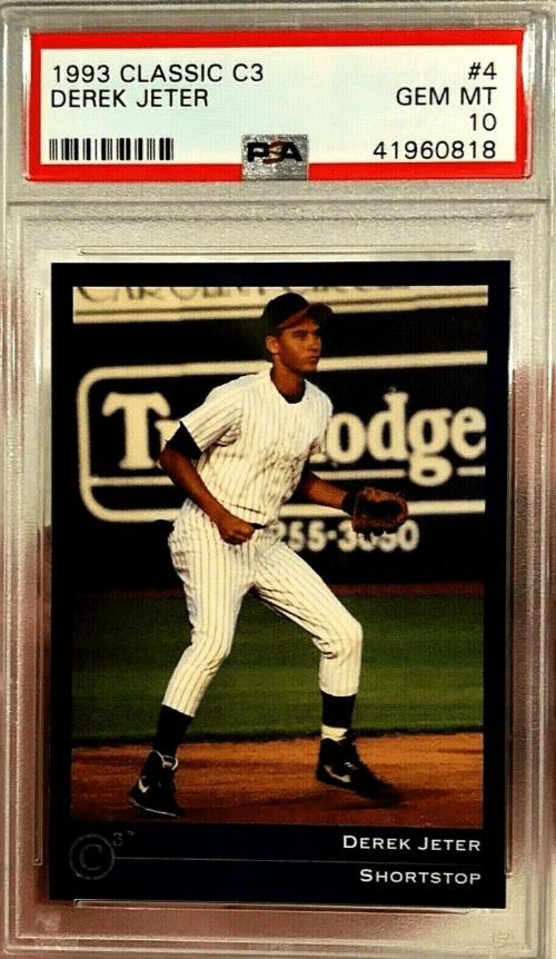 Derek Jeter Baseball Card Price Guide