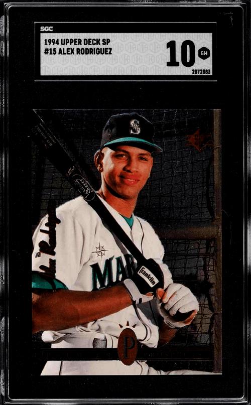 Alex Rodriguez Rookie Card Value