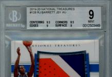 Best RJ Barrett rookie cards