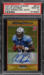 Calvin Johnson Rookie Card Value