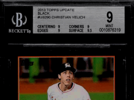 Christian Yelich rookie card topps