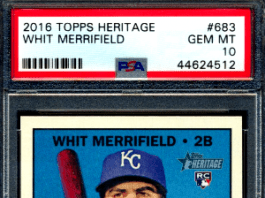 Whit Merrifield rookie card