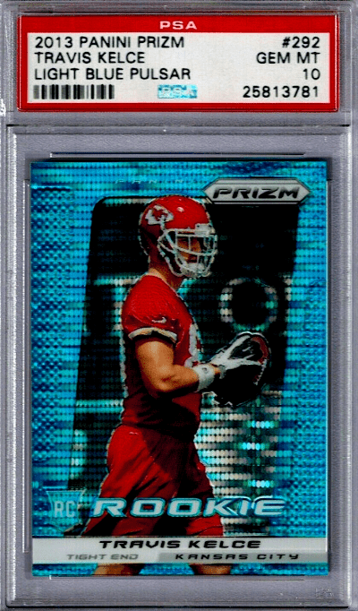 Travis Kelce Prizm Rookie Card