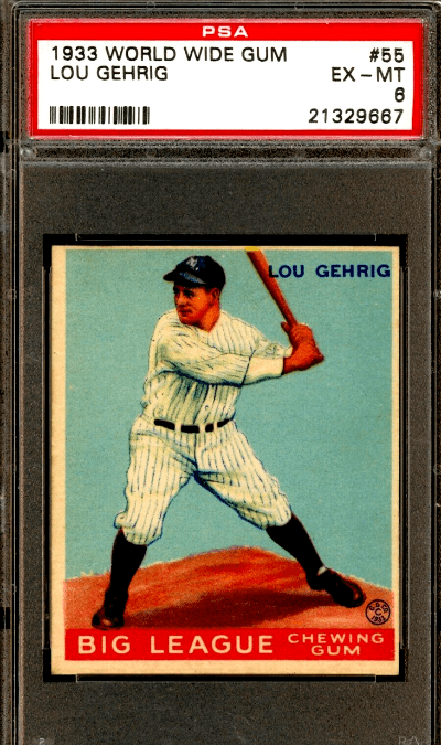 1930s most expensive baseball cards