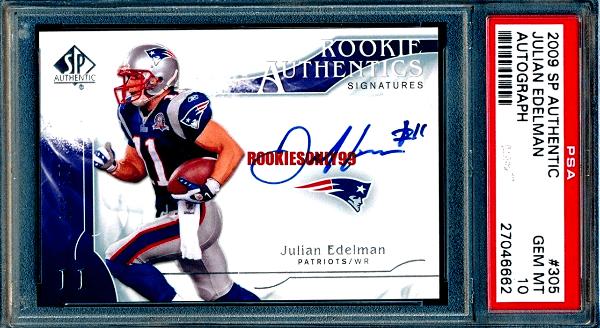 Julian Edelman Rookie Card Checklist