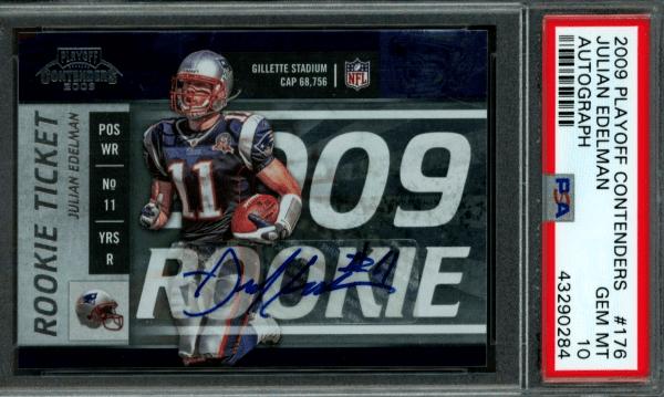 Julian Edelman rookie card