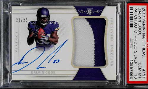 dalvin cook national treasures rc