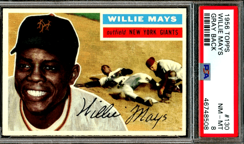 best Willie Mays baseball cards