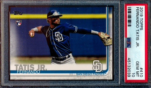 2019 best baseball cards