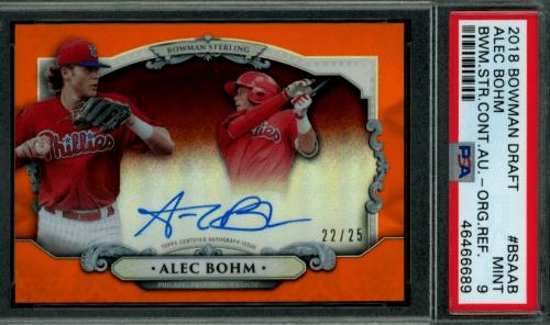 Alec Bohm Rookie Card Checklist