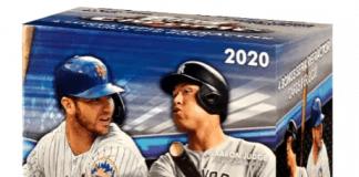 2020 Topps Chrome hobby box
