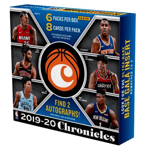 2019 Panini Chronicles Basketball Hobby Box