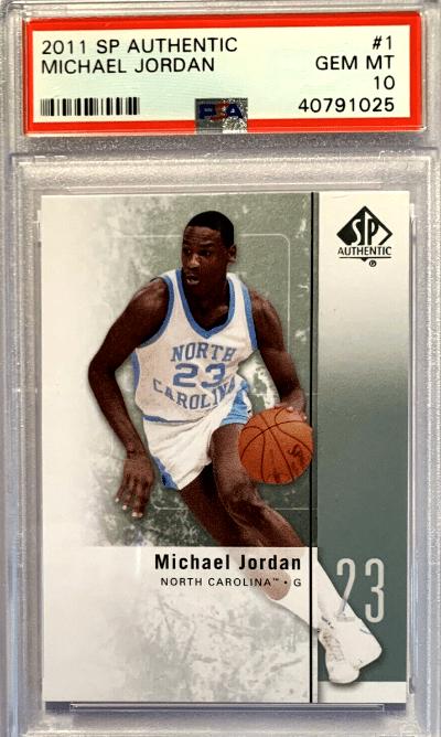 2011 Michael Jordan SP Authentic