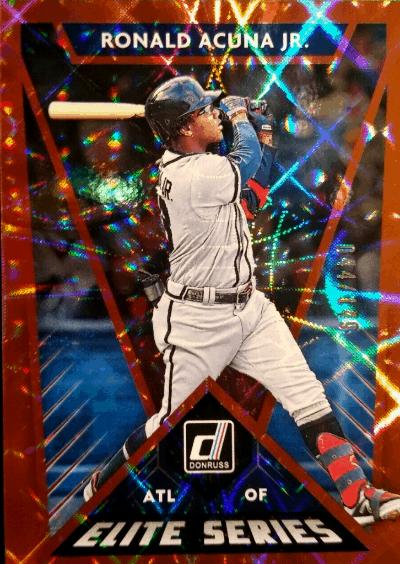 2020 donruss baseball hobby box