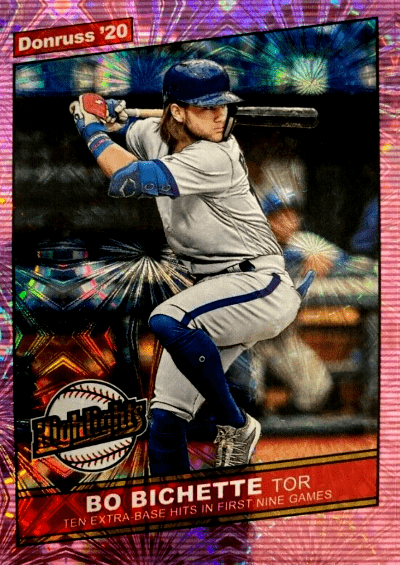 2020 Donruss Baseball Hobby Box Review