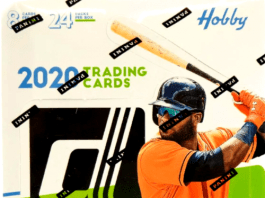 2020 Donruss Baseball hanger Box
