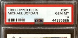 Michael Jordan Upper Deck basketball