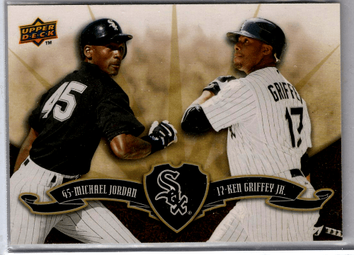 Michael Jordan Ken Griffey Jr. baseball card