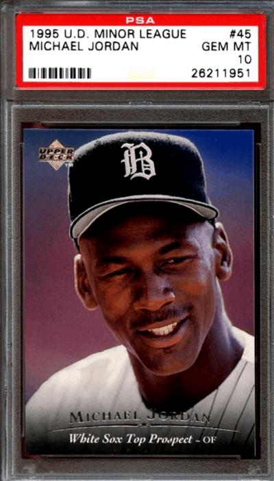 Michael Jordan Baseball Card Value