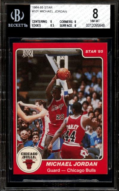 1984 Michael Jordan Star XRC