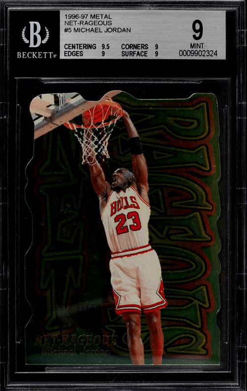 1996 Michael Jordan Metal Net-Rageous