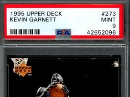 kevin garnett rookie card upper deck