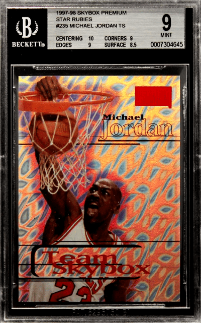 best mj basketball cards