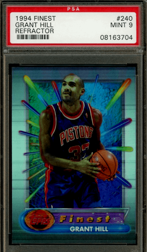 grant hill rookie card