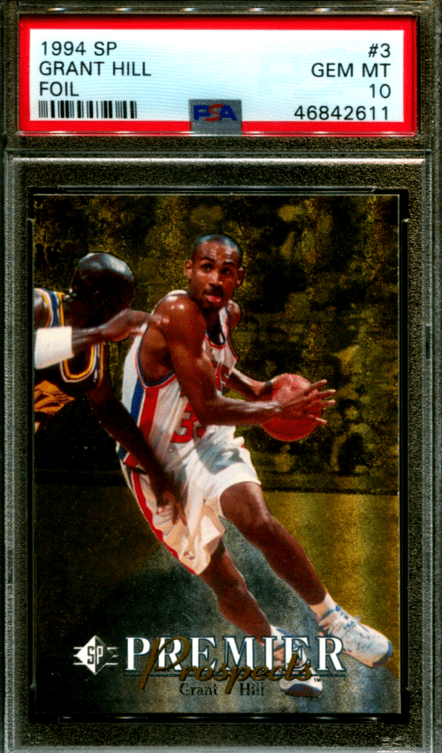 grant hill sp rookie card