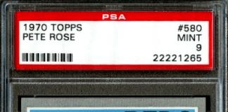 1970 Pete Rose Baseball Card