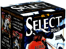 2020 Panini Select Baseball blaster box