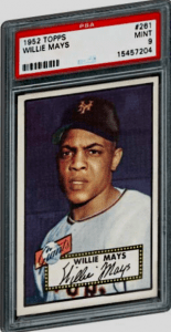 Most Valuable Willie Mays Baseball Card