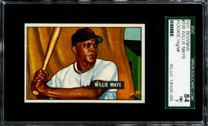 Willie Mays Baseball Card Checklist