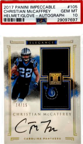 Christian McCaffrey Rookie Card Value