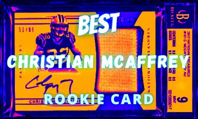 christian mcaffrey rookie card