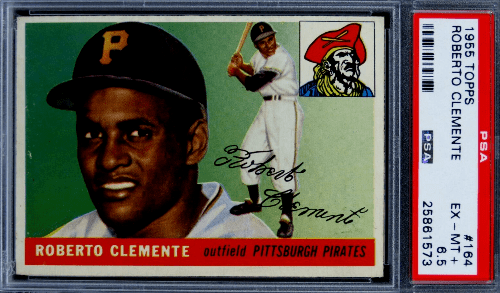 Roberto Clemente 1955 Topps