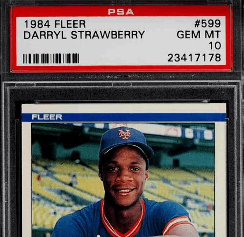 Darryl Strawberry Baseball Card