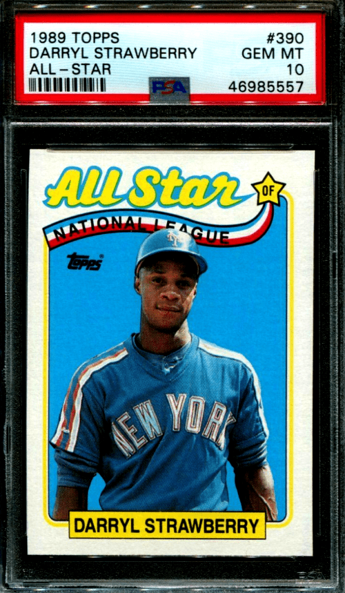 Darryl Strawberry All-Star Baseball Card