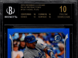 best Yasiel Puig rookie cards