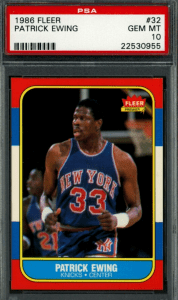 best basketball cards 80s