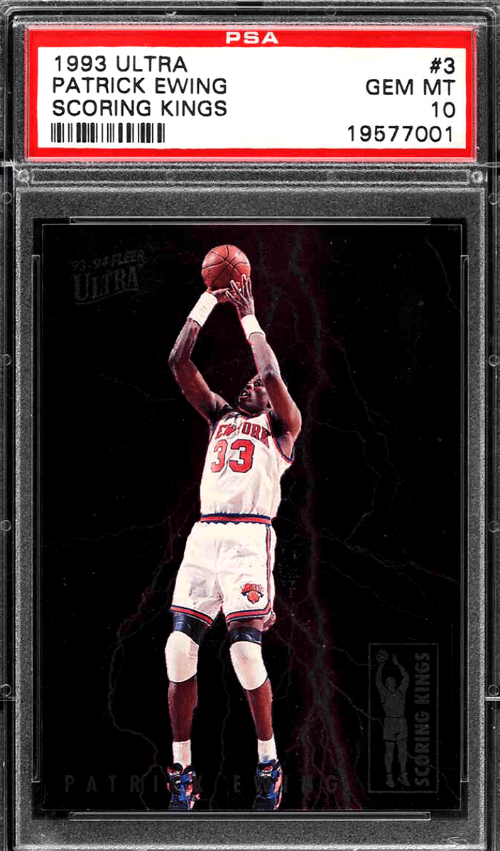 patrick ewing all-star card