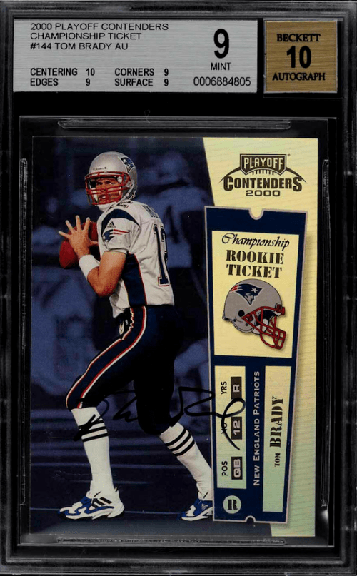 2000 Playoff Contenders Championship Ticket
