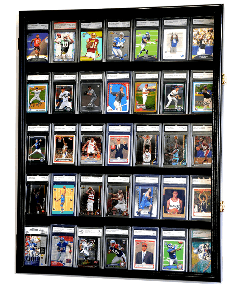 Best 3 Baseball Card Display Cases