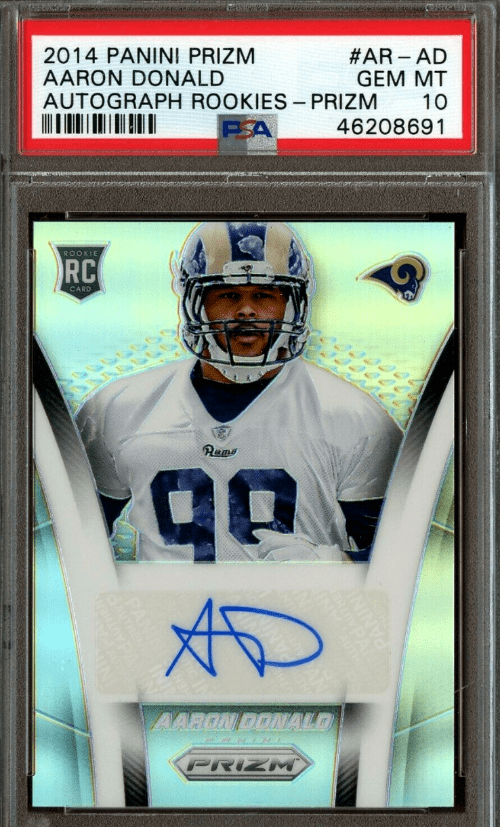 Aaron Donald Rookie Card Checklist