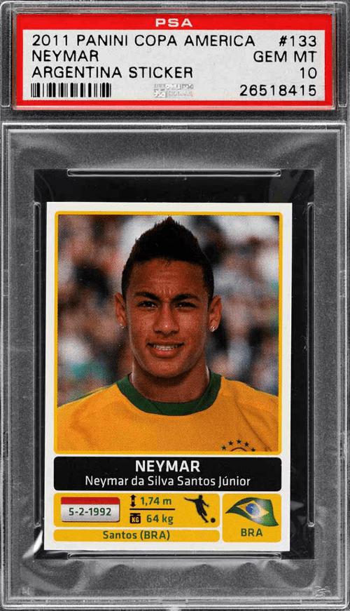 Neymar Rookie Card Checklist