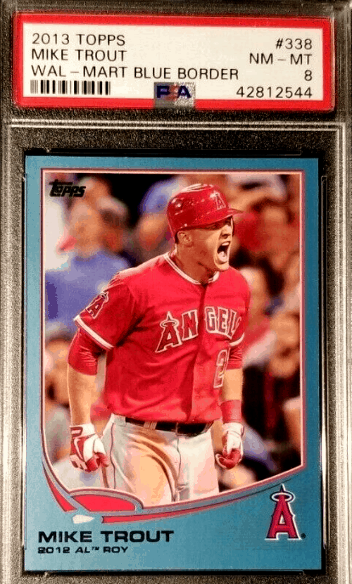 2013 Topps Mike Trout 2012 Rookie Of The Year