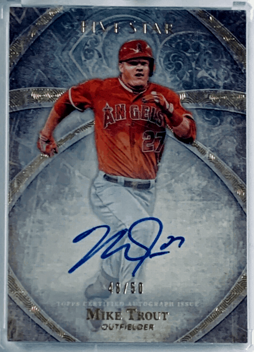 2014 Topps Five Star Mike Trout