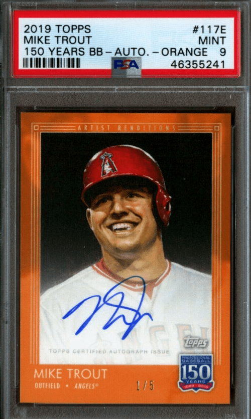 2019 Topps 150 Years Mike Trout