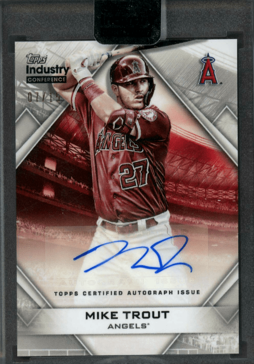 2020 Topps Industry Conference Mike Trout