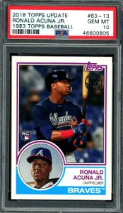 1983 topps Ronald Acuna Jr. rookie